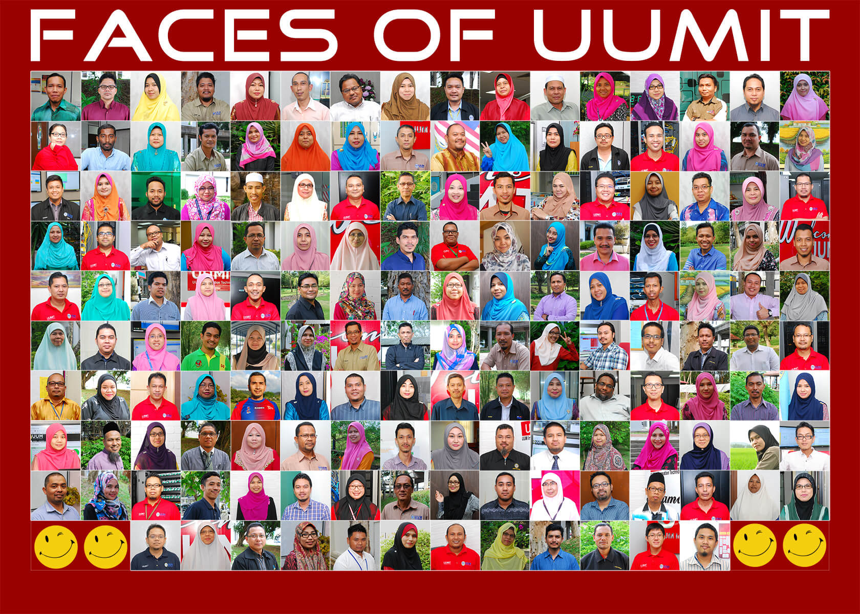 Faces of UUMIT 2016